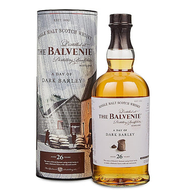 Balvenie Stories A Day of Dark Barley 26 Year Old Single Malt Scotch Whisky 700ml - Kent Street Cellars