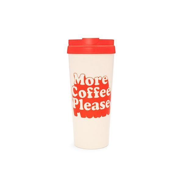 Ban.do More Coffee Please Thermal Mug