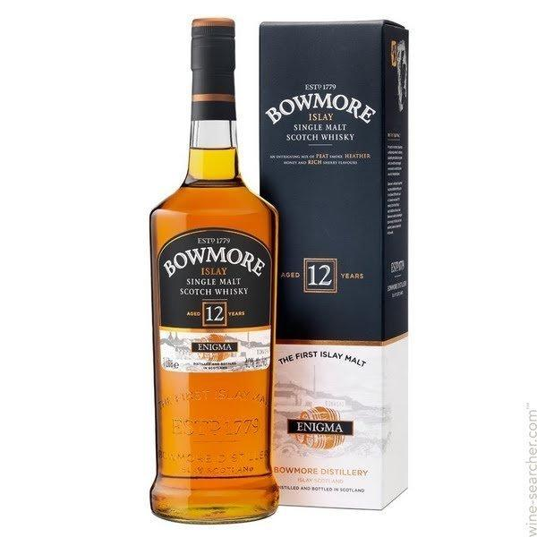 Bowmore Enigma 12 Year Old Single Malt Scotch Whisky 1L - Kent Street Cellars