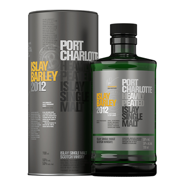 Bruichladdich Port Charlotte Heavily Peated Islay Barley Single Malt Scotch Whisky 700ml (2012 Release) - Kent Street Cellars