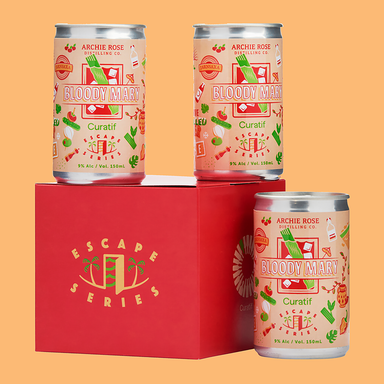 Curatif Escape Series Archie Rose Bloody Mary (Case) - Kent Street Cellars