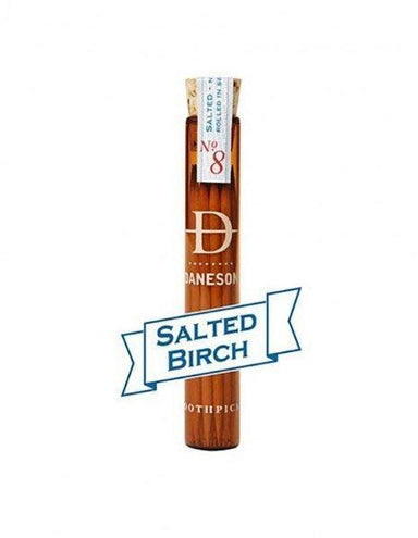 Daneson Flavoured Toothpicks Salted Birch No.8 - Kent Street Cellars