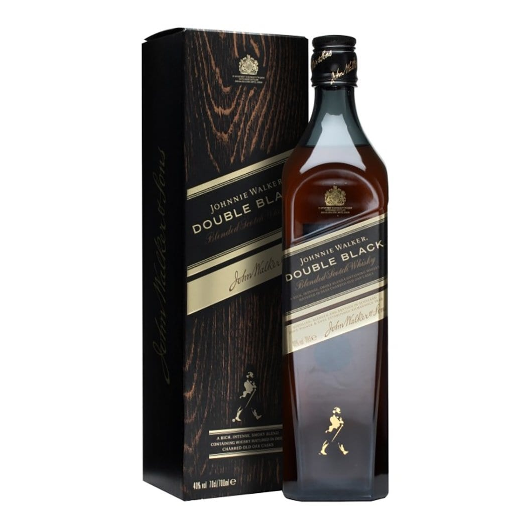Johnnie Walker Double Black Label Blended Scotch Whisky 700ml - Kent Street Cellars