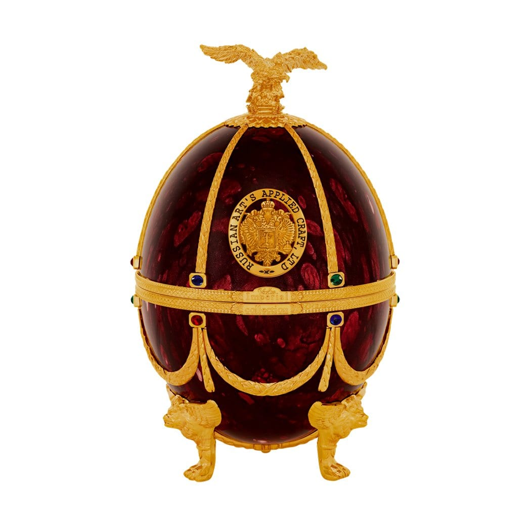 Imperial Collection Egg (Ruby) Russian Vodka