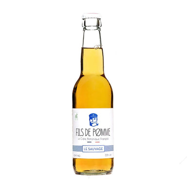 Fils de Pømme Le Sauvage Craft Apple Cider (Bottle) - Kent Street Cellars