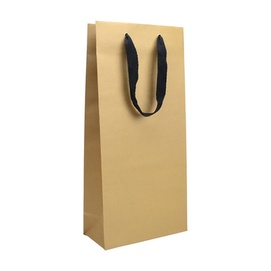 Double Bottle Gift Bag - Kraft - Kent Street Cellars