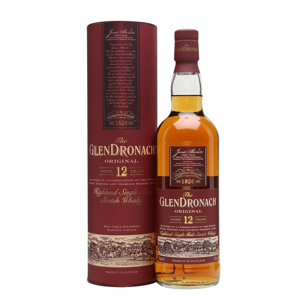 The GlenDronach 12 Year Old Single Malt Whisky
