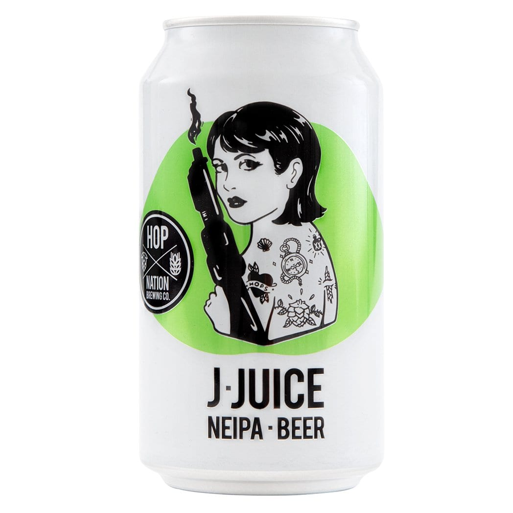 Hop Nation Brewing Co. J Juice NEIPA - Kent Street Cellars
