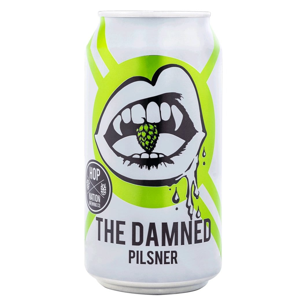 Hop Nation Brewing Co. The Damned Pilsner - Kent Street Cellars