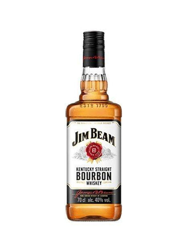Jim Beam White Label Bourbon Whiskey 700ml- Kent Street Cellars