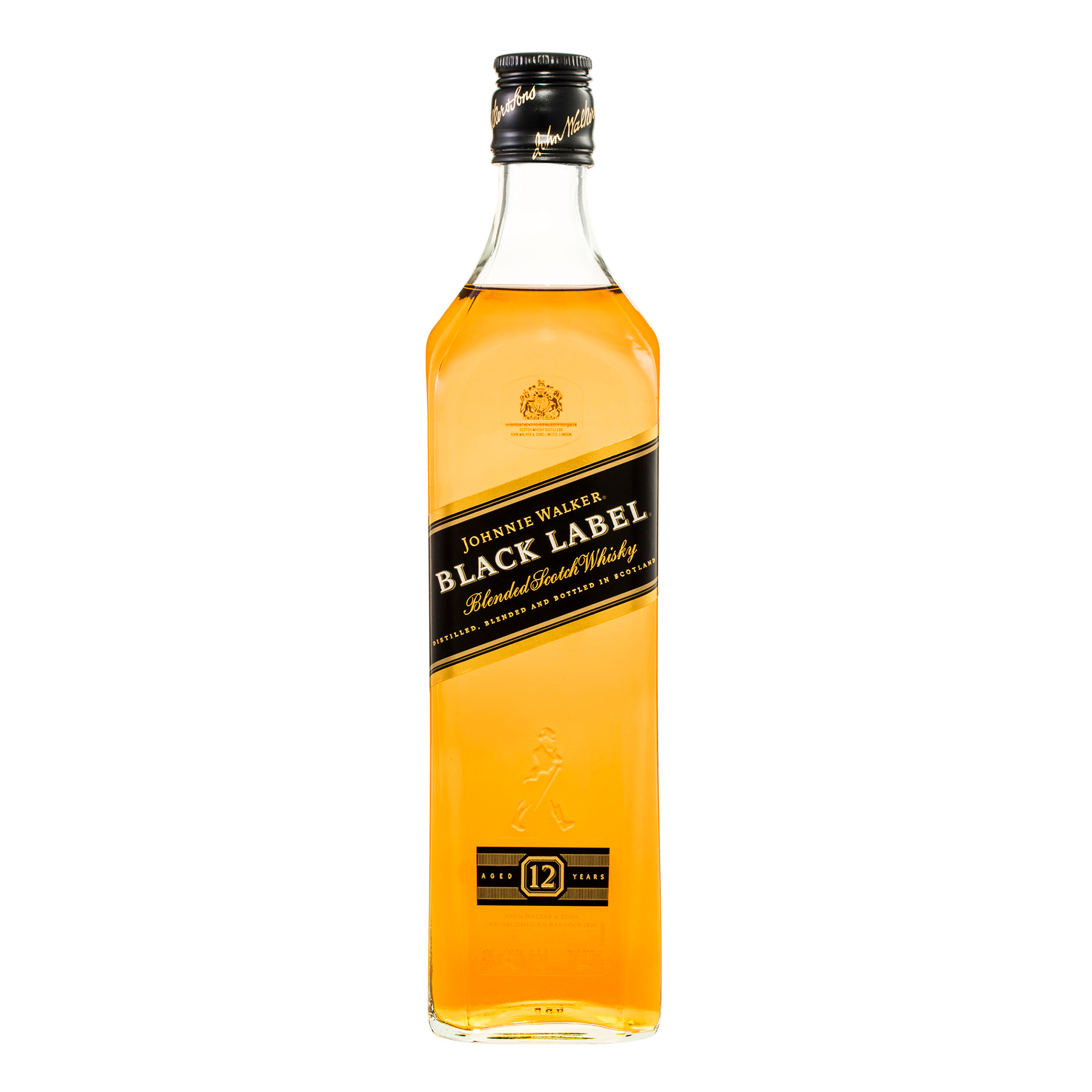 Johnnie Walker Black Label Blended Scotch Whisky 700ml - Kent Street Cellars