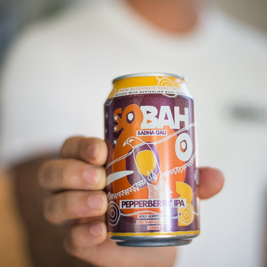 Sobah Pepperberry Non-Alcoholic IPA (4 Pack)
