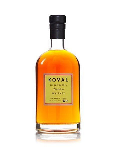 Koval Single Barrel Bourbon Whiskey 500ml - Kent Street Cellars