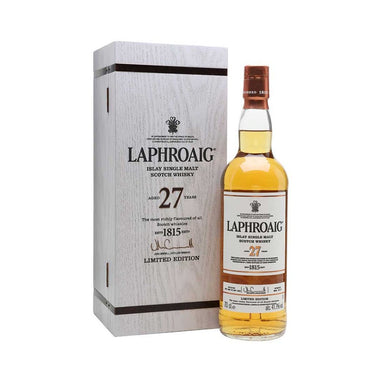 Laphroaig Limited Edition 27 Year Old Single Malt Scotch Whisky 700ml - Kent Street Cellars