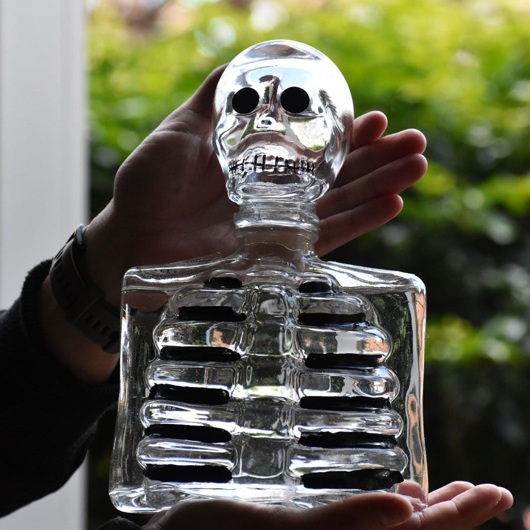 Los Azulejos Glass Skelly Blanco Tequila 750ml - Kent Street Cellars