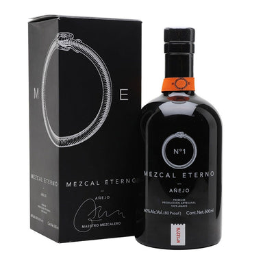 Mezcal Eterno Añejo No.1 500ml - Kent Street Cellars