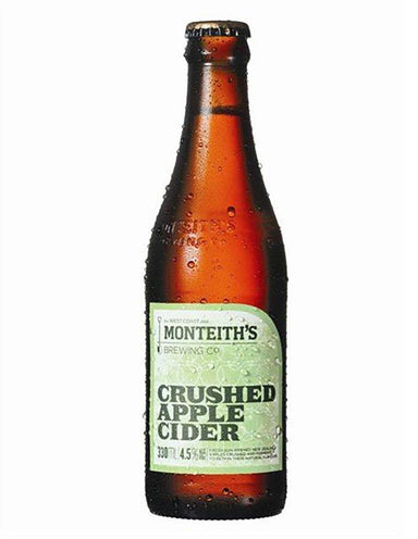 Monteiths Crushed Apple Cider (Case) - Kent Street Cellars