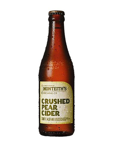 Monteiths Crushed Pear Cider (4 Pack) - Kent Street Cellars
