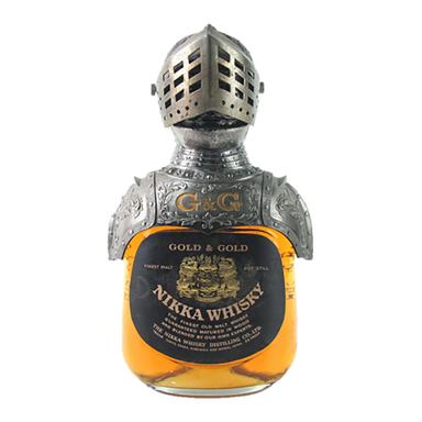 Nikka Gold & Gold Samurai Knight Ornament Blended Japanese Whisky 700ml - Kent Street Cellars