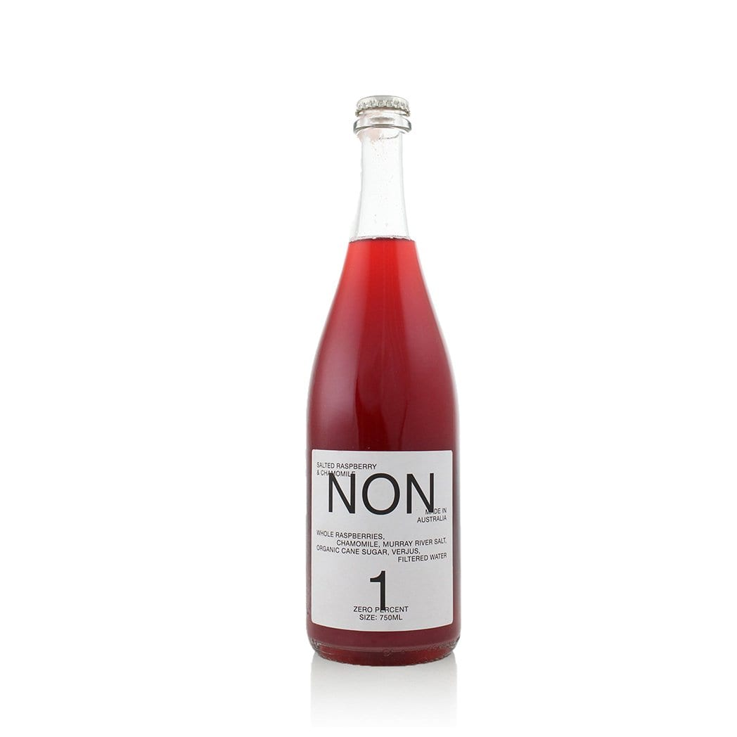 NON 1 Salted Raspberry & Chamomile Filtered Water 750ml - Kent Street Cellars