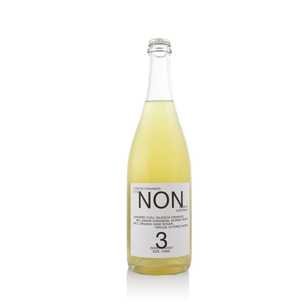 NON 3 Toasted Cinnamon & Yuzu Filtered Water 750ml - Kent Street Cellars