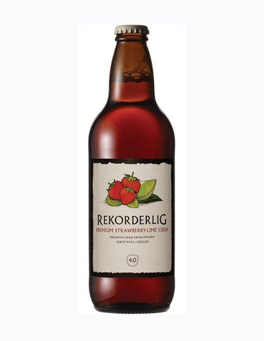Rekorderlig Strawberry Lime (Case) - Kent Street Cellars
