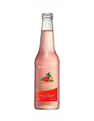 Rekorderlig Strawberry Lime Cider Cocktail (4 Pack) - Kent Street Cellars