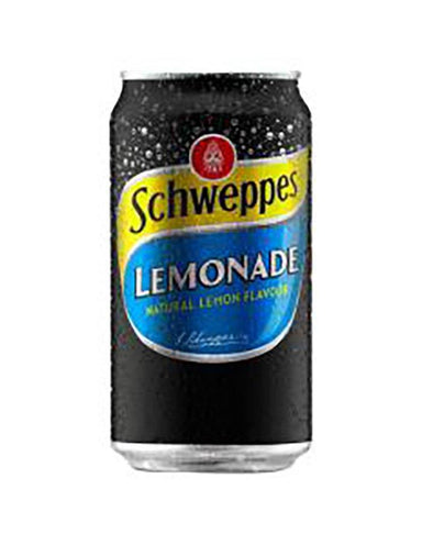 Schweppes Lemonade Cans (Case) - Kent Street Cellars