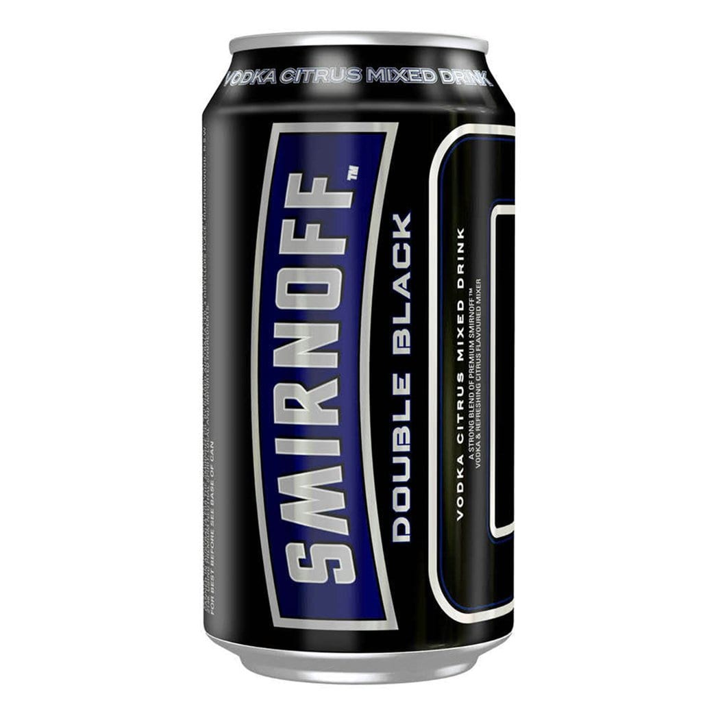 Smirnoff Ice Double Black (Case) - Kent Street Cellars