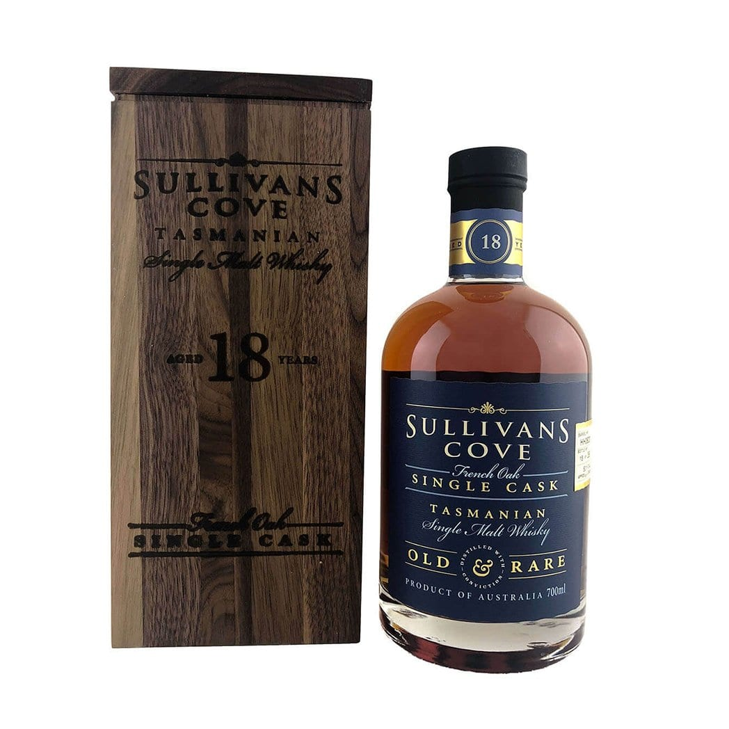 Sullivans Cove French Oak Single Cask Old & Rare 18 Year Old Whisky