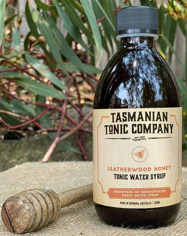 Tasmanian Tonic Company Leatherwood Honey Tonic Syrup 300ml - Kent Street Cellars