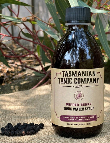 Tasmanian Tonic Company Pepper Berry Tonic Syrup 300ml - Kent Street Cellars