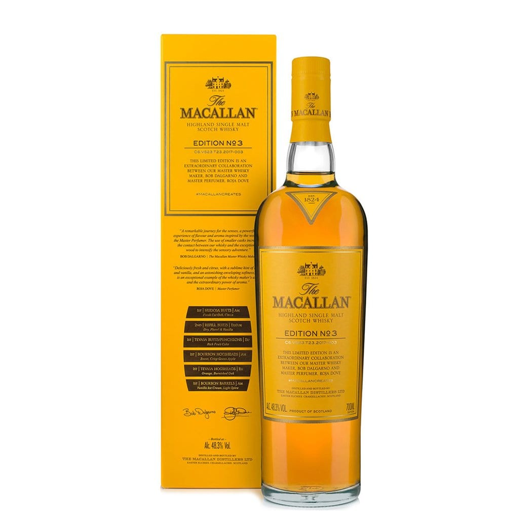 The Macallan Edition No. 3 Single Malt Scotch Whisky