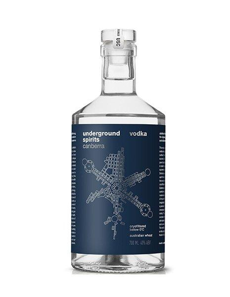 Underground Spirits Signature Vodka - Kent Street Cellars