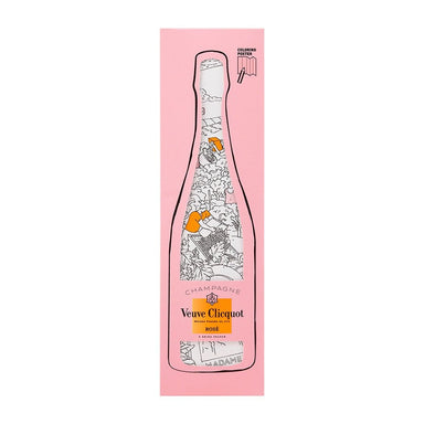 Veuve Clicquot Rosé NV Colouring Kit - Kent Street Cellars