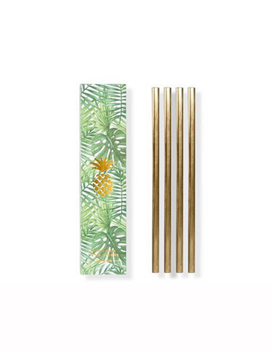 W&P Design Gold Metal Straws - Kent Street Cellars