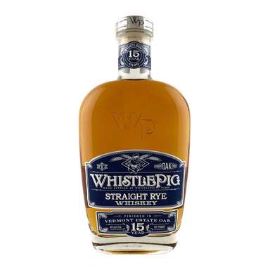 WhistlePig 15 Year Old Straight Rye Whiskey 750ml - Kent Street Cellars