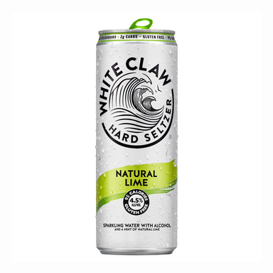 White Claw Seltzer Natural Lime (4 Pack) - Kent Street Cellars