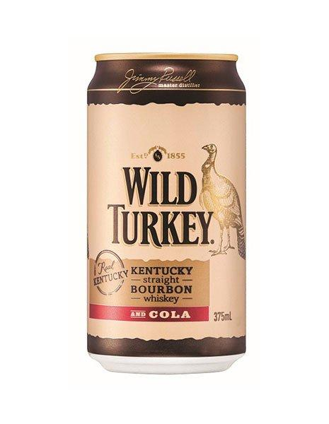 Wild Turkey And Cola (Case) - Kent Street Cellars