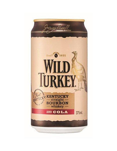 Wild Turkey And Cola (4 Pack) - Kent Street Cellars