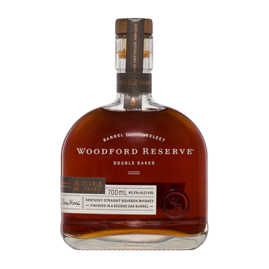 Woodford Reserve Double Oaked Bourbon Whiskey 700ml - Kent Street Cellars