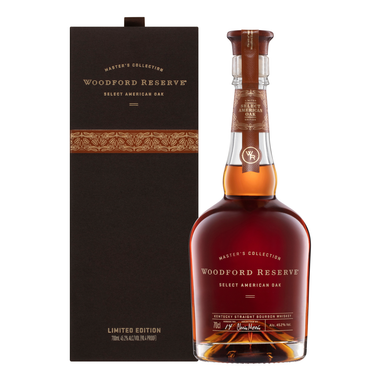 Woodford Reserve Master's Collection Select American Oak Bourbon Whiskey 700ml - Kent Street Cellars