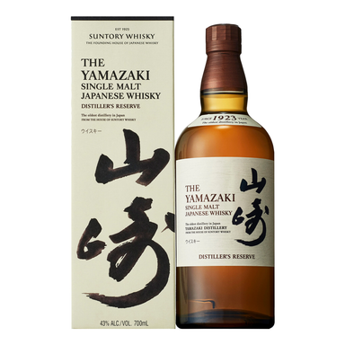 Yamazaki Distiller's Reserve Single Malt Japanese Whisky 700ml - KentStreet Cellars