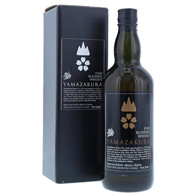 Yamazakura Fine Blended Black Label Japanese Whisky - Kent Street Cellars