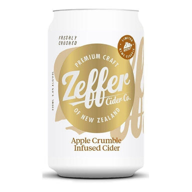 Zeffer Cider Apple Crumble Infused Cider - Kent Street Cellars