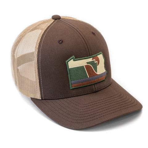 The Tuscarora: Symbol of Pennsylvania Hat | Snapback Trucker Patch Hat