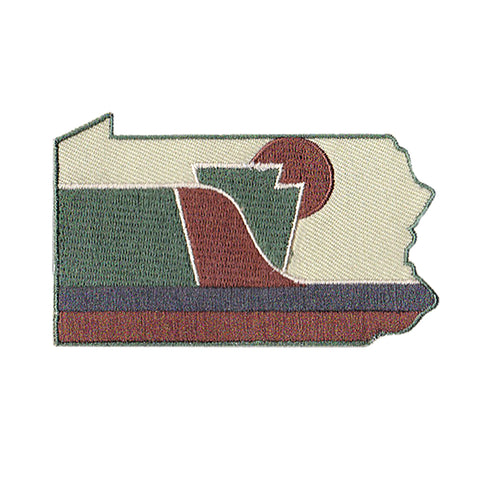 RepresentPA Pennsylvania Patch, Camo