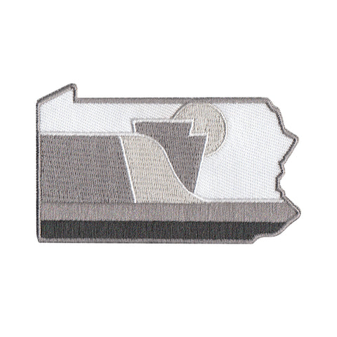 RepresentPA Pennsylvania Patch, Greyscale