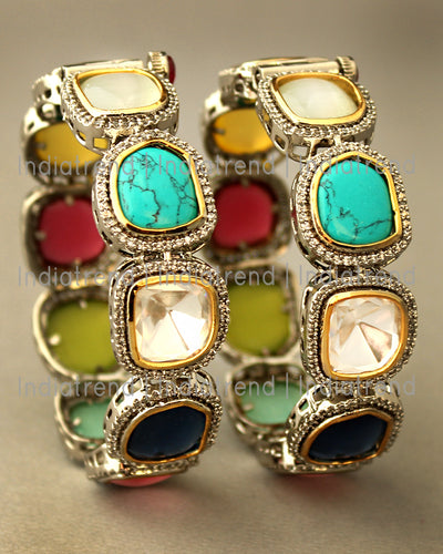 Patiala Bangle Set