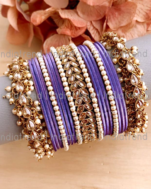 Ashna Bangle Set